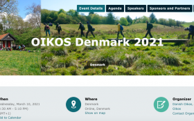 Oikos Denmark conference website
